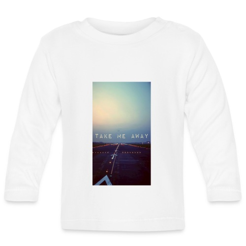 Take me away - Långärmad T-shirt baby