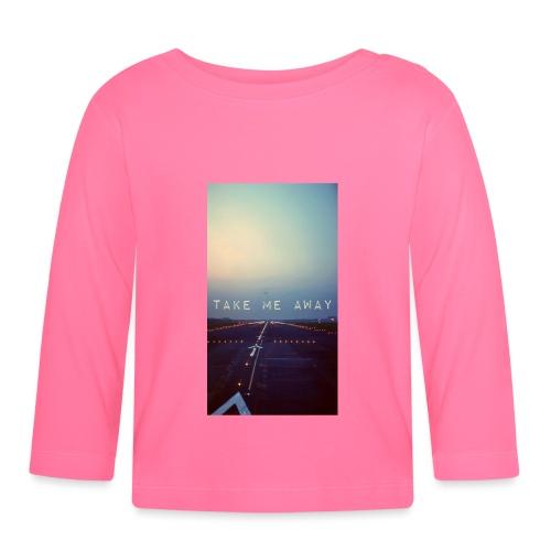 Take me away - Långärmad T-shirt baby
