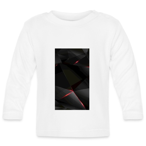 Hot Phone cover, Black red and grey - Baby Long Sleeve T-Shirt