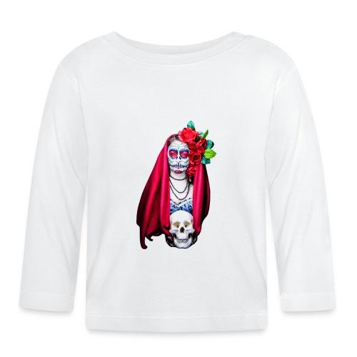 Noctografia Catrina Calavera - Camiseta manga larga bebé