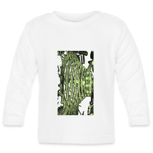 cluster_pale_green_copy - Baby Long Sleeve T-Shirt