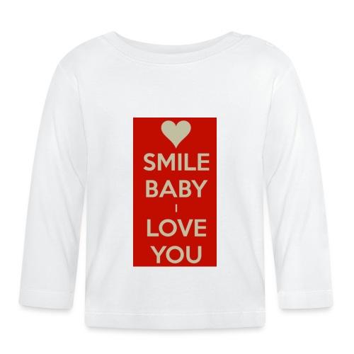 13EA371C 7A76 4027 BF26 429EE3809D0D - Långärmad T-shirt baby