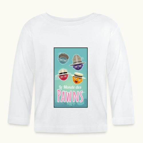 Le Monde des Pawns Chanteurs - T-shirt manches longues Bébé