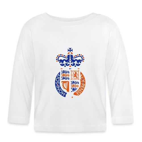 British Seal Pixellamb - Baby Langarmshirt