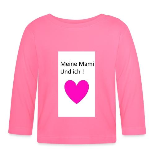 Meine Mami und ich - Baby Langarmshirt