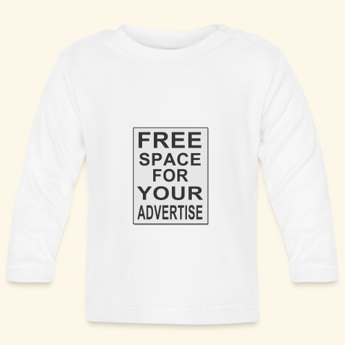 Free space for your advertise - Baby Long Sleeve T-Shirt