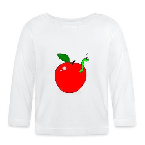 pomme et asticot - T-shirt manches longues Bébé
