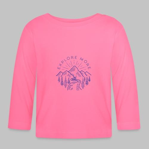 Explore more - Baby Long Sleeve T-Shirt