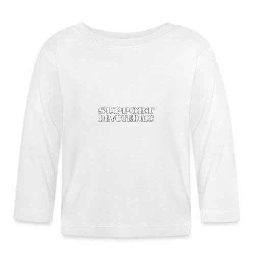 T-Shirt SUPPORT DEVOTEDMC SHOP 1 - Langarmet baby-T-skjorte