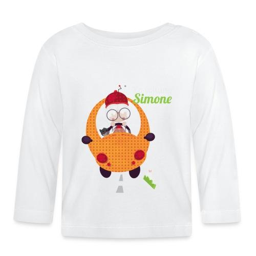 AUTOSIMONE - T-shirt manches longues Bébé