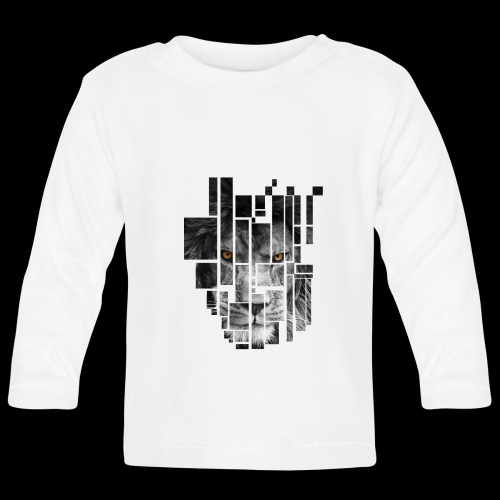Pixel Lion Tattoo Inspire - Baby Long Sleeve T-Shirt