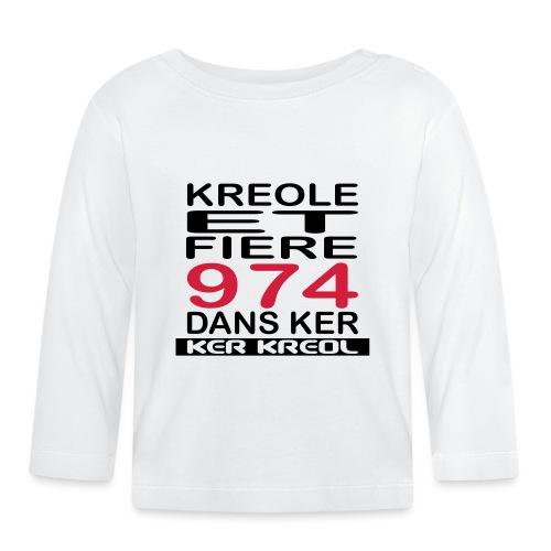 Kreole et Fiere - 974 ker kreol - T-shirt manches longues Bébé