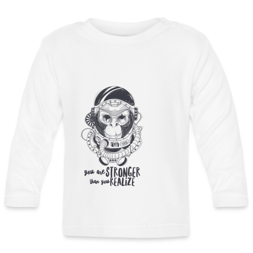 you are stronger - Baby Langarmshirt
