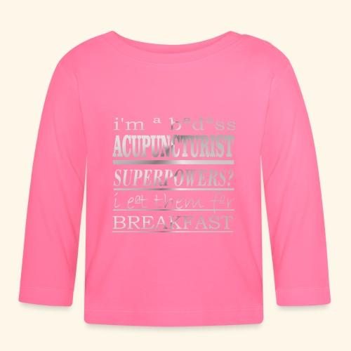 ACUPUNCTURIST - Maglietta a manica lunga per bambini