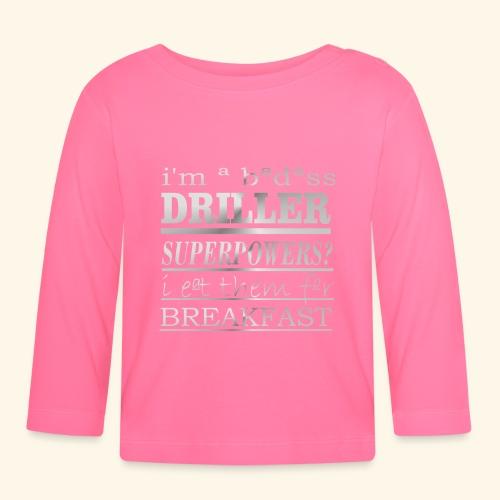 DRILLER - Maglietta a manica lunga per bambini