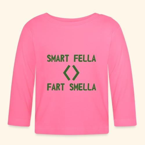 Smart fella - Maglietta a manica lunga per bambini