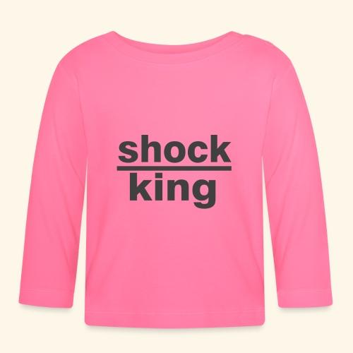 shock king funny - Maglietta a manica lunga per bambini
