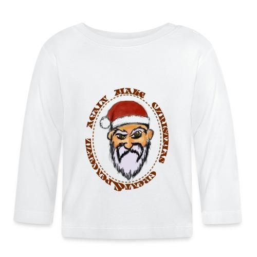 christmas tshirt - T-shirt manches longues Bébé