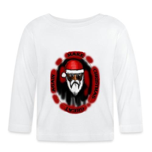 make christmas great again - T-shirt manches longues Bébé