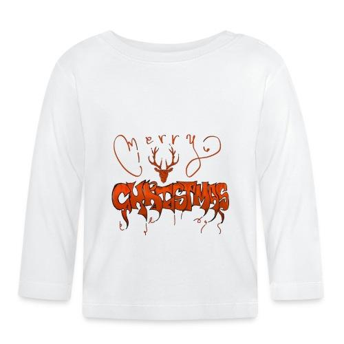 MERRY CHRITMAS joyeux noël - T-shirt manches longues Bébé