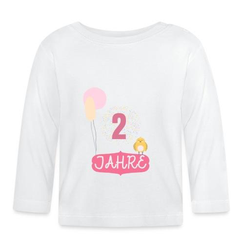 2 Jahre // Geschenk zum 2. Geburtstag - Baby Langarmshirt