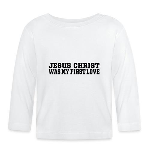 Jesus Christus Lieben - Baby Langarmshirt