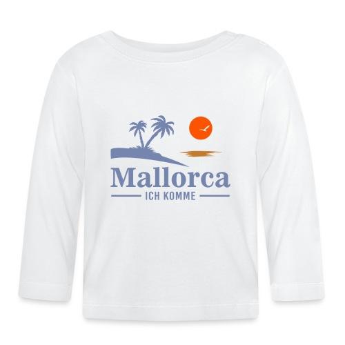 Mallorca - ich komme - Baby Langarmshirt