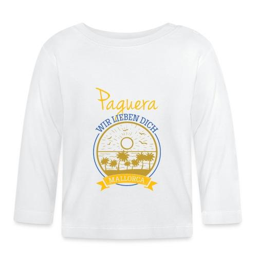 Paguera - Peguera Mallorca - Fan Design - Baby Langarmshirt