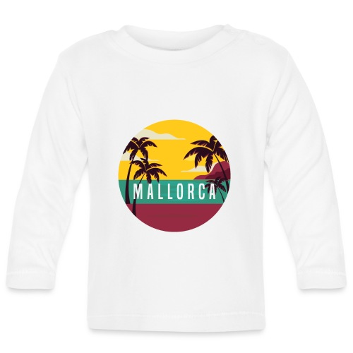 Mallorca - Baby Langarmshirt