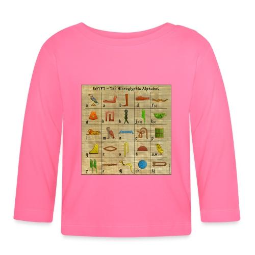 The Hieroglyphic Alphabet - Baby Langarmshirt