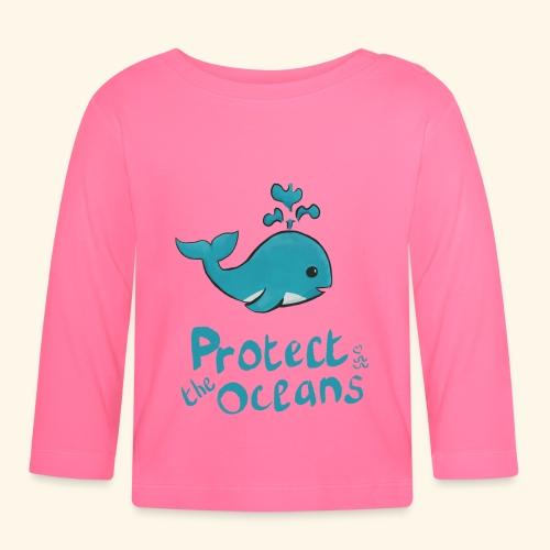 Protèges les océans - T-shirt manches longues Bébé