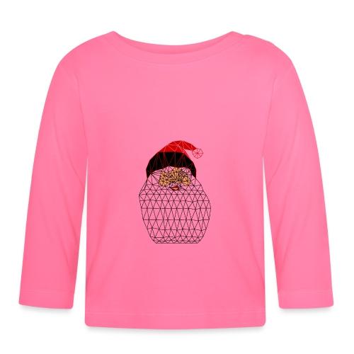 Papa Noël Isométrique - T-shirt manches longues Bébé