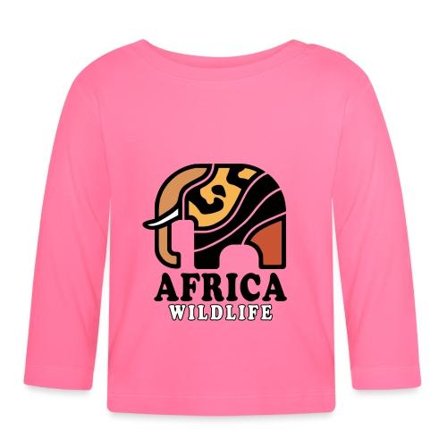 Elefant I AFRICA Wildlife - Baby Langarmshirt