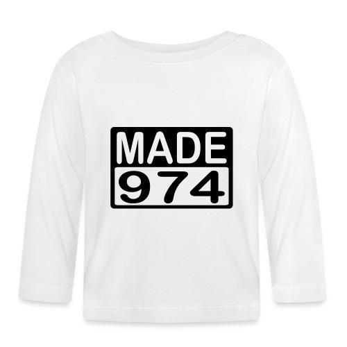 Made 974 - v2 - T-shirt manches longues Bébé