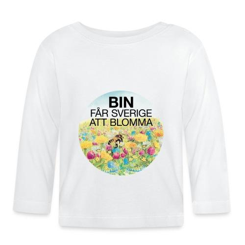 Bin får Sverige att blomma - Långärmad T-shirt baby