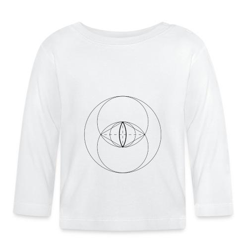 Vesica Piscis - Langærmet babyshirt