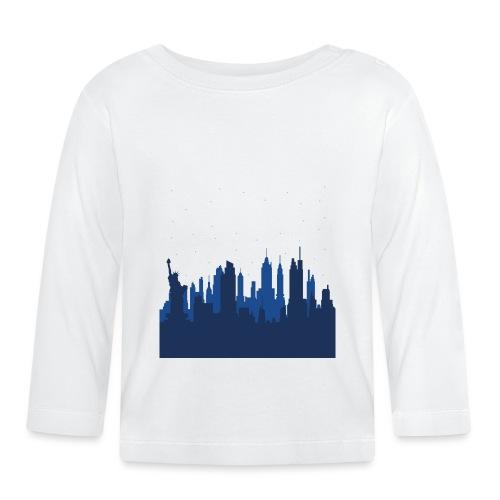 Manhattan Skyline - T-shirt manches longues Bébé