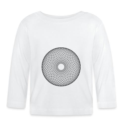 Torus Yantra - Hypnotic Eye - Langærmet babyshirt