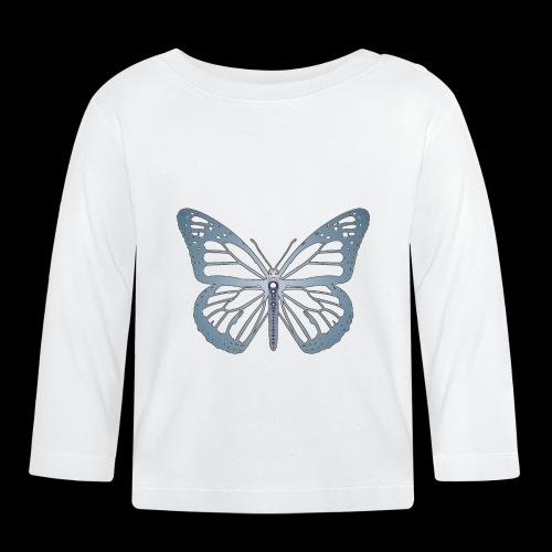 D05 Monarch Butterfly Negative Dream - Camiseta manga larga bebé