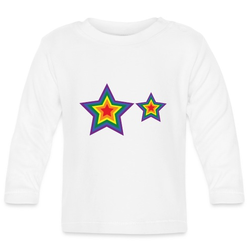 Stars Gay - Camiseta manga larga bebé