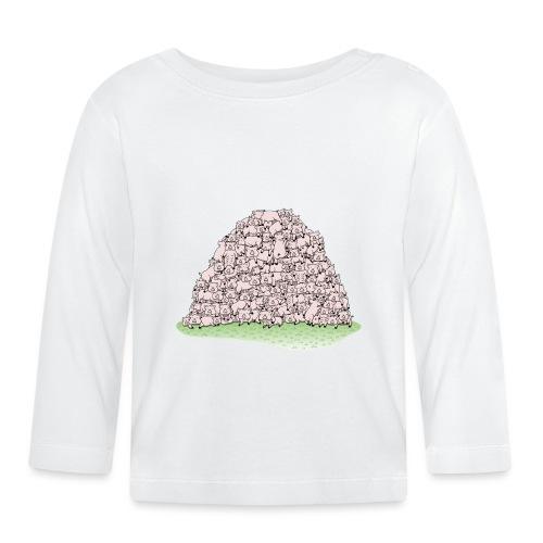 Der Sauhaufen - Baby Langarmshirt