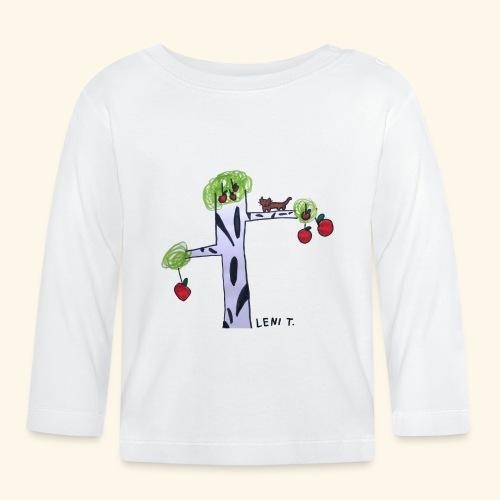 LeniT Cat in a Tree - Vauvan pitkähihainen paita