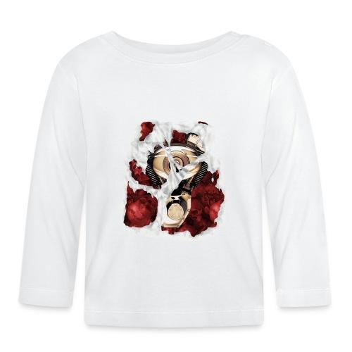 V-twin bone blanca - Camiseta manga larga bebé