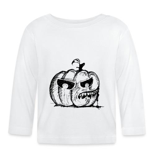 Pumpkin Terror - Baby Long Sleeve T-Shirt