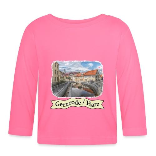 gernrode harz spittelteich 3 - Baby Langarmshirt
