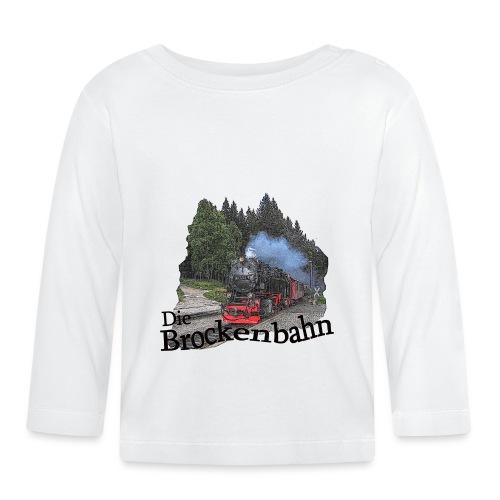 brockenbahn dampflok schierke 1 - Baby Langarmshirt
