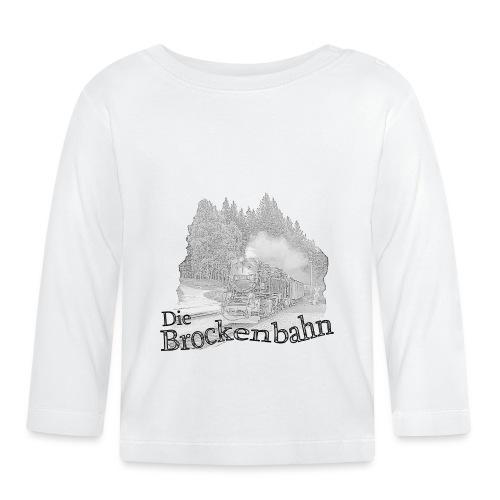 brockenbahn dampflok schierke 2 - Baby Langarmshirt
