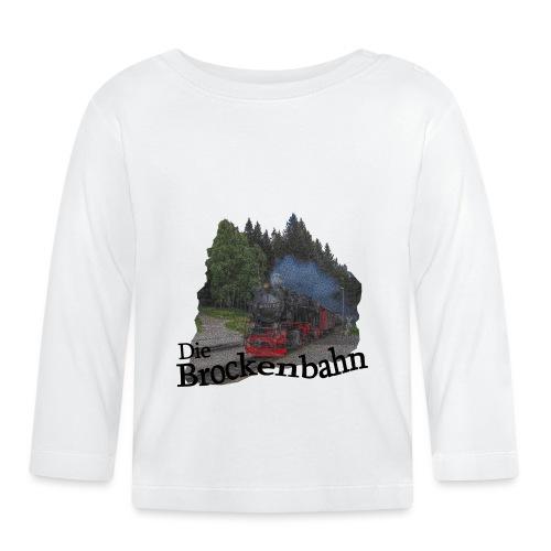 brockenbahn dampflok schierke 3 - Baby Langarmshirt