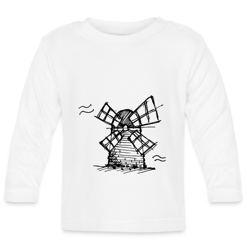 Windmill - Baby Long Sleeve T-Shirt