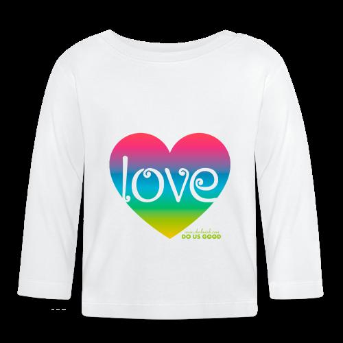 LOVE - Vauvan pitkähihainen paita
